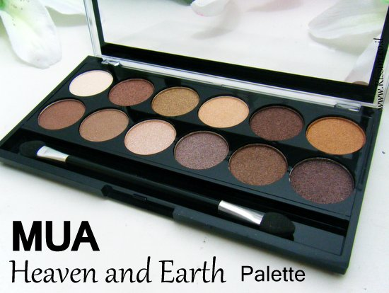 MUA Heaven and Earth Palette