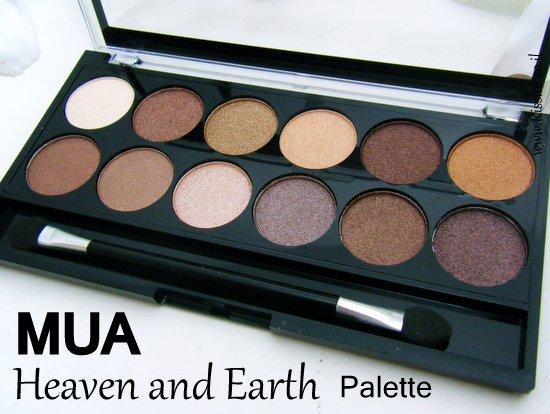 MUA Heaven and Earth Palette
