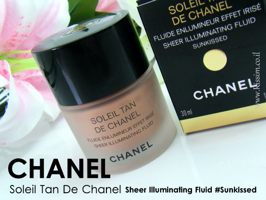 Chanel Soleil Tan De Chanel Sheer Illuminating Fluid in Sunkissed