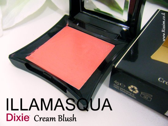 Illamasqua DIXIE cream blush 3
