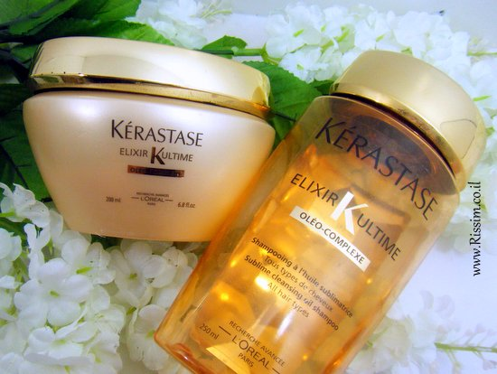 kerastase ELIXIR ULTIME shampoo and masque