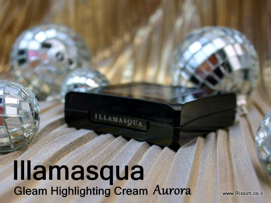 Illamasqua Aurora Gleam Highlighting Cream