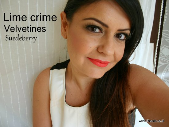 Lime crime Velvetines #Suedeberry