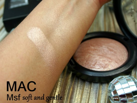 MAC MSF soft and gentle swatch