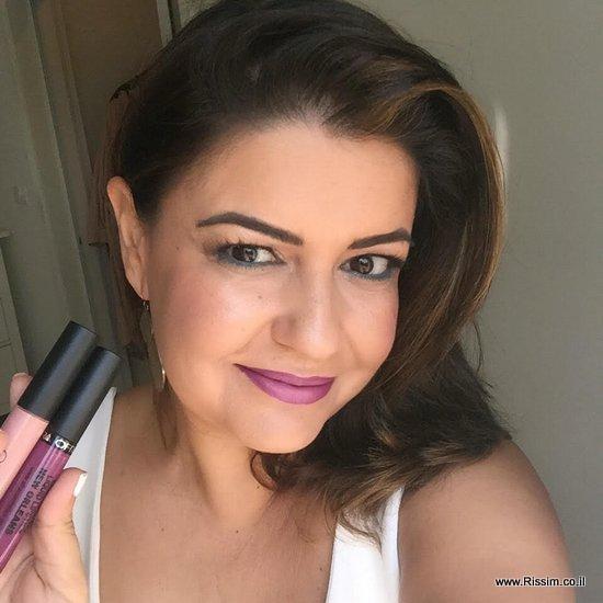 אומברה בשפתיים עם שפתונים נוזליים של עפרה - ניו אורלינס ואנג'לס