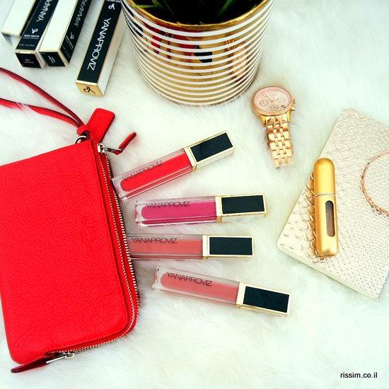 שפתונים נוזליים של יאנה פרוביז