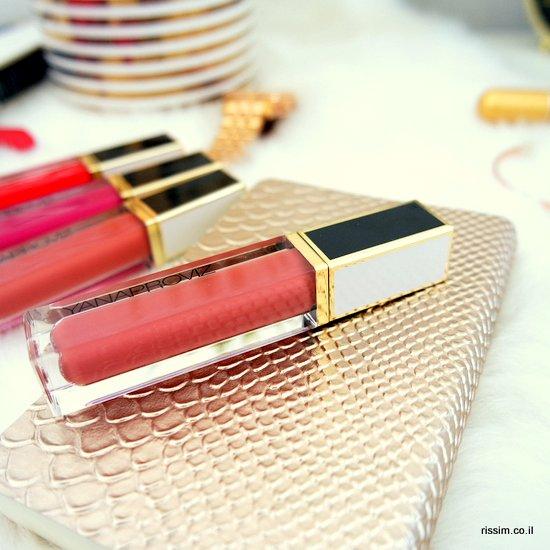 שפתונים של יאנה פרוביז - שחור לבן